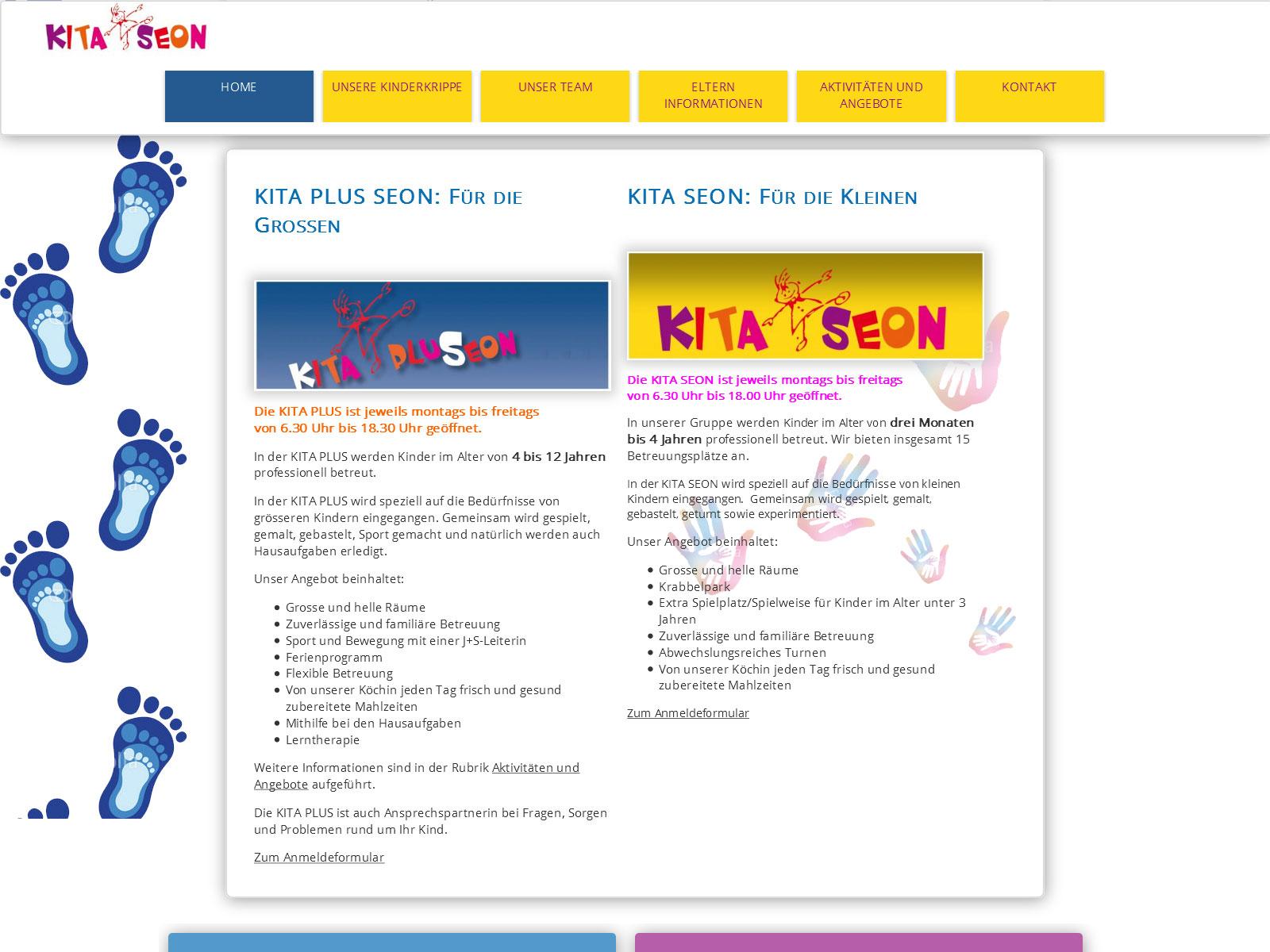 kita seon.ch professionelle kinderbetreuung
